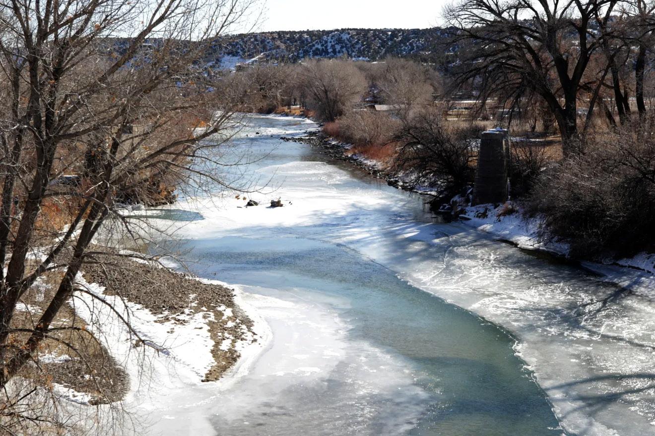 Animas River through Cedar Hill